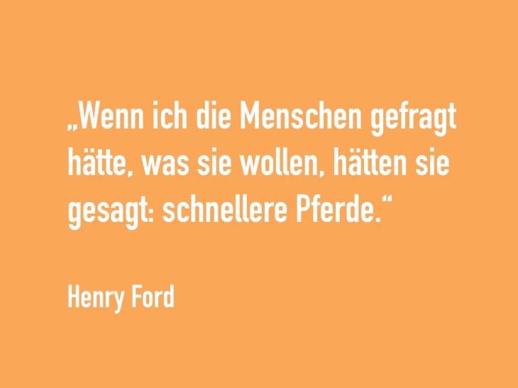 Zitat Henry Ford zum Innovationsmanagment